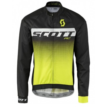 Куртка Scott RC Pro WB black/sulphur yellow