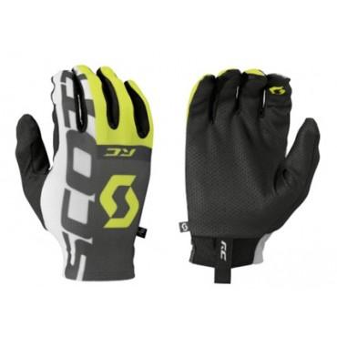 Перчатки Scott RC Pro LF д/пал black/sulphur yellow