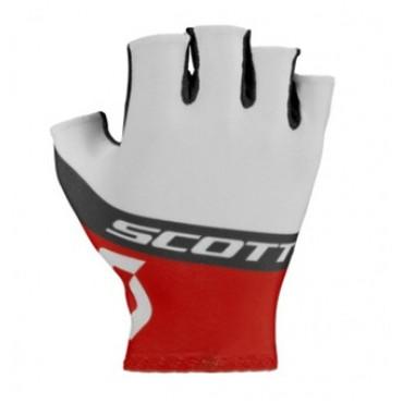 Перчатки Scott RC Team к/пал white/red
