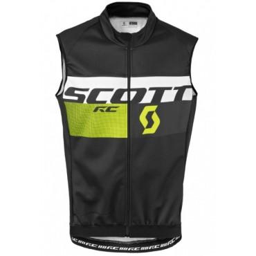 Жилет Scott RC AS black/sulphur yellow