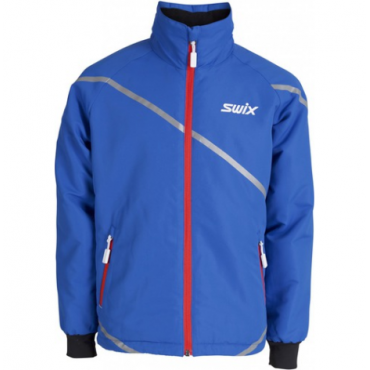 Куртка подростковая SWIX Rookie cиняя