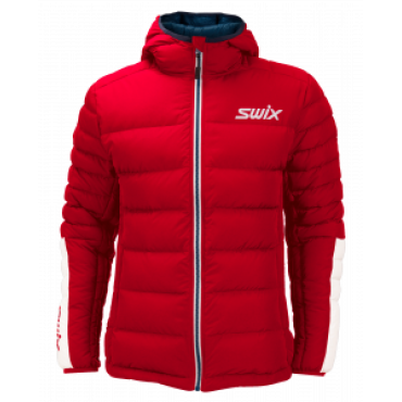 Куртка мужская Swix пуховая Dynamic (красн.)
