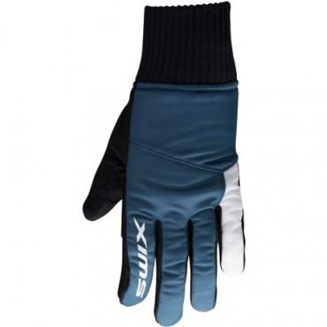 Перчатки детские SWIX Pollux (кобальт)