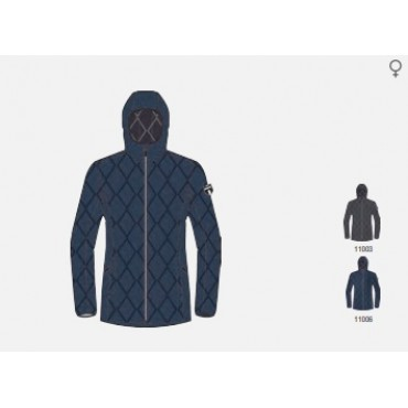 Куртка женская пуховая SWIX Romsdal (т.сер.-меланж)