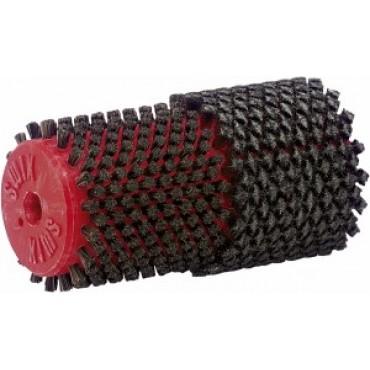 Двойная комбинированная роторная щетка (сталь/конский волос) Swix
