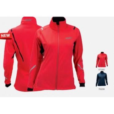 Куртка женская разминочная SWIX Сross (кобальт)