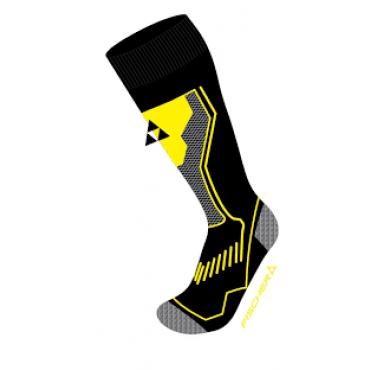 Носки горнолыжные Fischer Alpin Comfort black/yellow