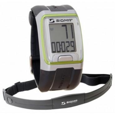 Часы-пульсометр спортивные Sigma PC-3.11 Green