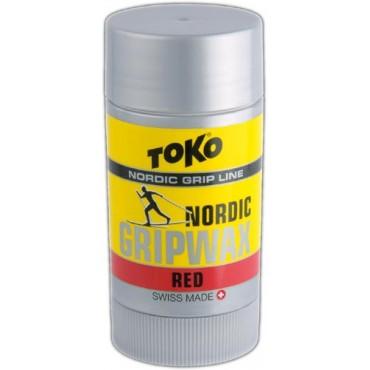 Мазь держания Toko Nordic GripWax red -2°C/-10°C Арт. 5508752
