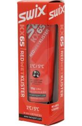 Мазь жидкая-клистер SWIX Red Klister +5°C/+1°C Арт. KX65