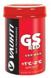 Мазь VAUHTI GS RED красная +1°C/-2°C 45г Арт. 357-GSR