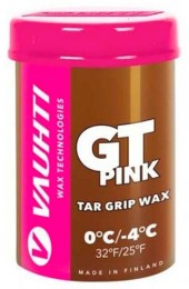 Мазь VAUHTI GT PINK смоляная 0°C/-4°C, 45г Арт. 367-GTP
