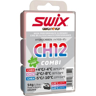 Мазь скольжения Swix СH12X Combi