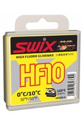 Мазь скольжения Swix HF10X Yellow 40g 0°C/+10°C Арт. HF10X-4