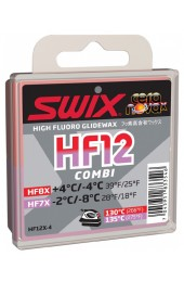 Мазь скольжения Swix HF12X Combi 40гр +4°C/-8°C Арт. HF12X-4