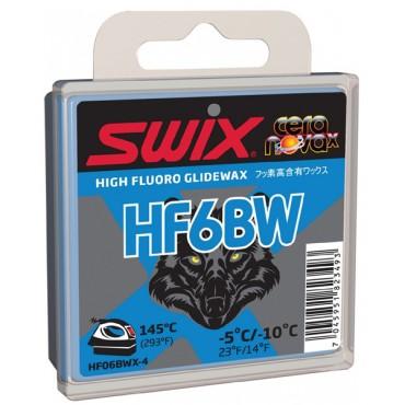 Мазь скольжения Swix HF6BWX Black Wolf 40g