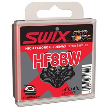 Мазь скольжения Swix HF8BW Black Wolf 40g
