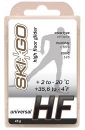 Парафин SkiGo HF Universal белый +2°C/-20°C 45г. Арт. 63020