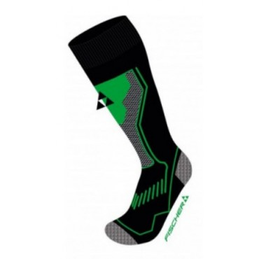 Носки горнолыжные Fischer Alpine Comfort Black-Lime