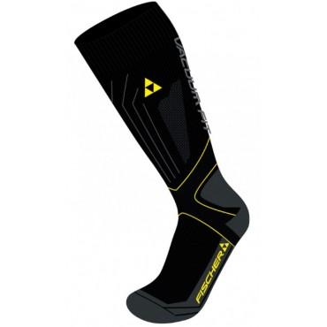 Носки Fischer VACUUM Black/Yellow
