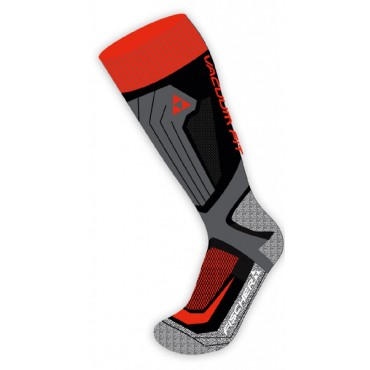 Носки Fischer Vakuum black/red