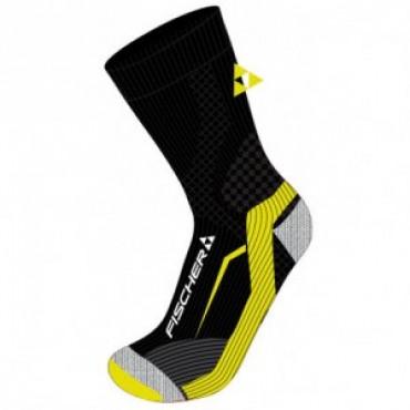 Носки Fischer SKATING black-yellow
