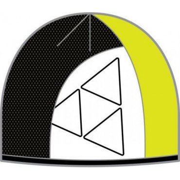 Шапка Fischer Arctic желтый/черный/белый