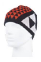 Шапка Fischer BORMIO черный-красный Арт. G31919