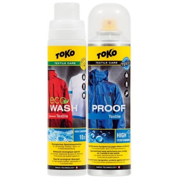 Набор Toko Duo-Pack Textile Proof & Eco Textile Wash Арт. 5582504