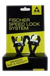 Шнурки Fischer Speed Lock - Blk/White S80414