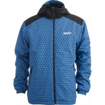 Куртка подростковая SWIX Novosibirsk cиняя
