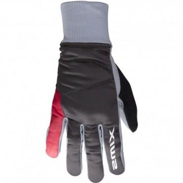 Перчатки женские SWIX Pollux темно-серый