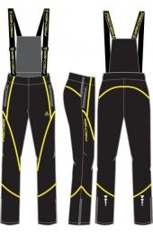 Брюки женские Fischer Softshell Warm чёрные Арт. GR8078-100