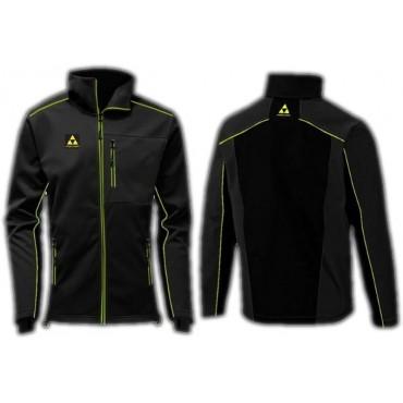 Куртка мужская Fischer Softshell Warm чёрная
