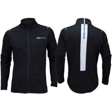 Куртка мужская Swix Triac 3.0 Цвет: чёрный; олимпийский синий.