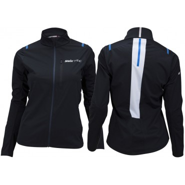 Куртка женская Swix Triac 3.0 Цвет: чёрный.