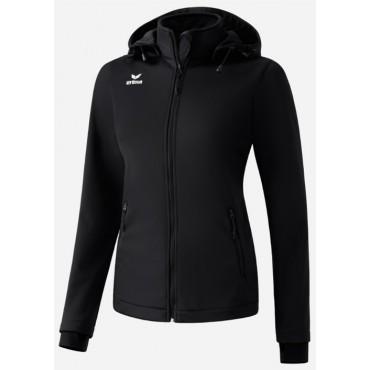 Куртка женская спортивная всепогодная Erima Softshell Jacket Basic