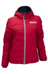 Куртка женская Swix пуховая Dynamic (красн.) Арт. 13156-90000