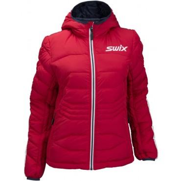 Куртка женская Swix пуховая Dynamic (красн.)