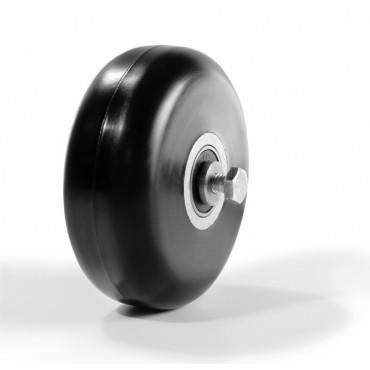 Ролик коньковый каучук 80 х 30 мм