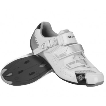 Велообувь Scott Road Pro Lady (gloss white/gloss black)