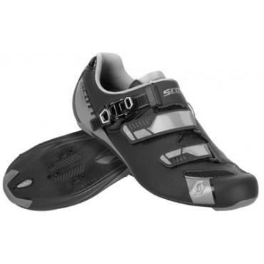 Велообувь Scott Road Pro (matt black/gloss grey)